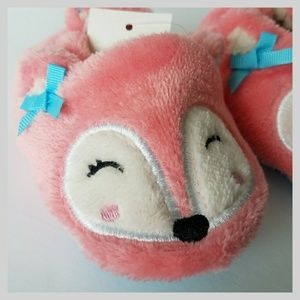 Other - Pink Fox Slippers